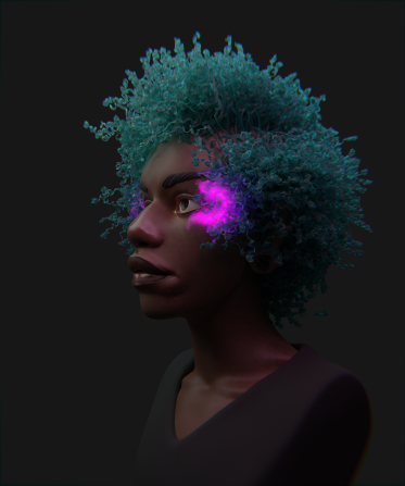 Hair 03 Render 02