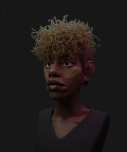 Hair 04 Render 01