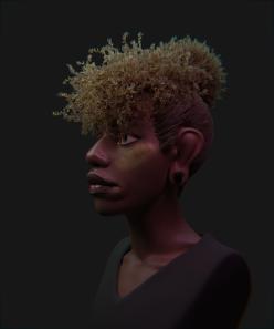 Hair 04 Render 02